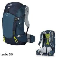 Tas GREGORY ZULU 30 Lt Biru Hiking Outdoor Carrier Ransel Backpack Not