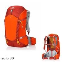 Tas GREGORY ZULU 30 Lt Orange Hiking Outdoor Carrier Ransel Backpack