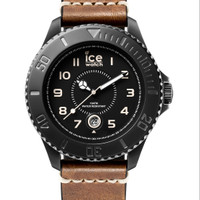 JAM TANGAN ICE WATCH - HE.BN.BM.B.L.14 ICE heritage big brown black ma