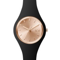 JAM TANGAN ICE WATCH - ICE.CC.BRG.S.S.15 ICE chic small black rose gol