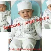 fashion anak -jual koko baju muslim bayi putih
