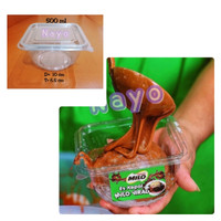 Cup salad mika (L) 500 ml/ Mangkok mika/ Cup puding