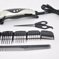 BERKUALITASSSSS NEW 1 Set Alat Mesin Cukur Pangkas Potong Rambut Hair
