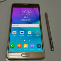 SAMSUNG GALAXY NOTE 4 SECOND MULUS NO CACAT