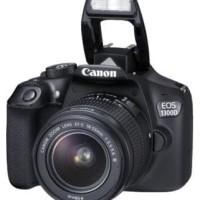 TERLARIS| CANON EOS 1300D + LENSA 18-55 III WIFI / KAMERA DSLR CANON