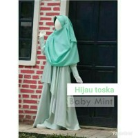 Gamis maxmara silk premium baju gaun pesta muslimah cantik ori branded
