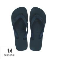 FRENCHIE Sandal Jepit ONYX BOLD SOB03 Black Brown