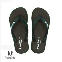 FRENCHIE Sandal Jepit CURVE SCV13 Brown Green Black