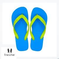 FRENCHIE Sandal Jepit Bold SBO09 Blue Yellow