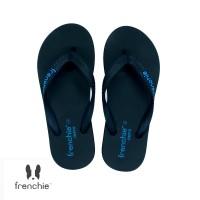 FRENCHIE Sandal Jepit ONYX COZY SOM02 Black Blue