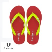 FRENCHIE Sandal Jepit COZY SCM16 Yellow Red