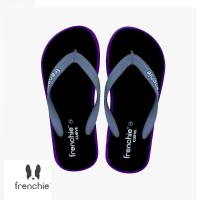 FRENCHIE Sandal Jepit CURVE SCV11 Black Purple Grey
