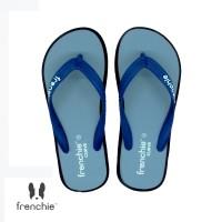 FRENCHIE Sandal Jepit CURVE SCV14 Blue Light Blue Black