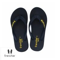 FRENCHIE Sandal Jepit ONYX COZY SOM01 Black Yellow