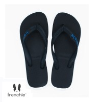 FRENCHIE Sandal Jepit ONYX BOLD SOB02 Black Blue
