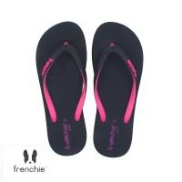 FRENCHIE Sandal Jepit ONYX COZY SOC01 Black Pink