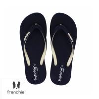FRENCHIE Sandal Jepit ONYX COZY SOC03 Black White