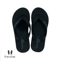 FRENCHIE Sandal Jepit ONYX COZY SOM03 Black Grey