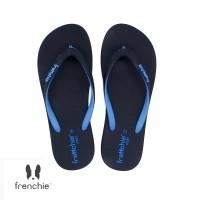 FRENCHIE Sandal Jepit ONYX COZY SOC02 Black Blue