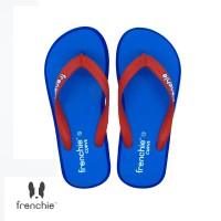 FRENCHIE Sandal Jepit CURVE SCV16 Blue Red