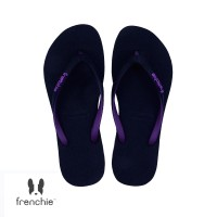 FRENCHIE Sandal Jepit ONYX SLIM SOS03 Black Purple