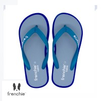 FRENCHIE Sandal Jepit CURVE SCV09 Grey Blue