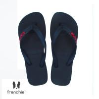 FRENCHIE Sandal Jepit ONYX BOLD SOB01 Black Red