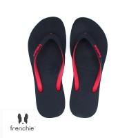 FRENCHIE Sandal Jepit ONYX SLIM SOS01 Black Red