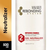 Makarizo Professional Rebonding System Neutralizer Gel Bottle 500 ml