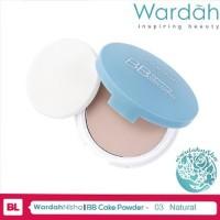 Wardah Lightening BB Cake Powder 03 Natural - Bedak ilf