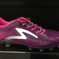 Sepatu bola specs Thunderbolt FG Pink Original new2017 murah