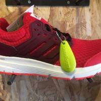 Sepatu running adidas Galaxy 3M original merah jogging murah