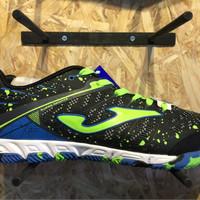 Sepatu futsal joma original super regate hitam new 2017