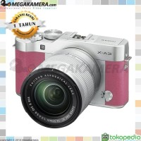 Fujifilm XA3 / Fuji XA3 / XA3 Kit 16-50mm X-A3 Kamera Mirrorless - Pin
