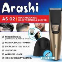 Alat Pangkas Rambut AC DC Arashi AS 02