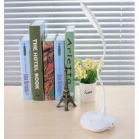 Lampu Meja Belajar 20 LED Model Fleksibel Simple