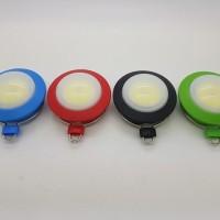 lampu emergency 6w led COB camping bisa gantung magnet
