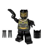 Jual Marvel Avengers Black Panther Killmonger Vibranium Minifigure Lego kw Murah