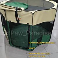 Playpen cage kandang carrier travel cargo anjing kucing pets dog pet