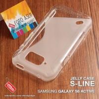 Soft Jelly Case Samsung S6 Active Softcase Silikon Casing Cover Karet