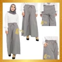 Celana Kulot Panjang Wanita Bahan Katun Rami Termurah Berkualitas