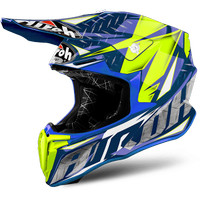 Helm Airoh Twist - IRON BLUE GLOSS