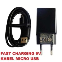 Charger Xiaomi SUPPORT Fast Charging 9V USB Micro USB Original 100% -