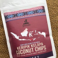 Javara Coconut Chips (keripik kelapa)