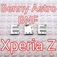 Konektor Memory Card - Sony Xperia Z - C6602 - C6603 - SO-02E - Docomo