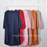 Baju Atasan Wanita Muslimah Alika Tunik By Khevamauza