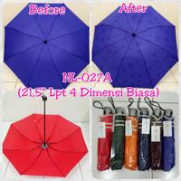 "Payung Lipat 4 Dimensi Biasa 21,5"" NL-027A"