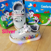 sepatu little pony led 1 #sepatu lampu anak perempuan #sepatu frozen