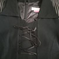 Dress/gaun Pesta hitam panjang # bekas#