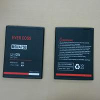 Baterai Evercoss M50/A75B / Double power / ori / battrey / batre hp